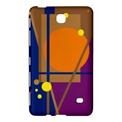 Decorative abstract design Samsung Galaxy Tab 4 (7 ) Hardshell Case
