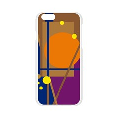 Decorative abstract design Apple Seamless iPhone 6/6S Case (Transparent)