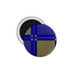 Blue design 1.75  Magnets