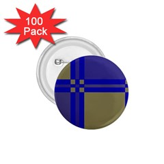 Blue design 1.75  Buttons (100 pack)