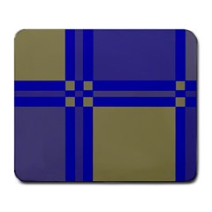 Blue design Large Mousepads