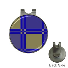 Blue design Hat Clips with Golf Markers