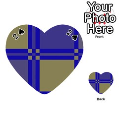 Blue design Playing Cards 54 (Heart)