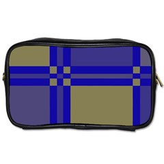 Blue design Toiletries Bags