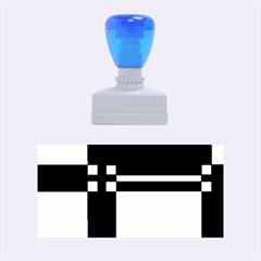Blue design Rubber Stamps (Medium)