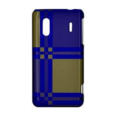 Blue design HTC Evo Design 4G/ Hero S Hardshell Case