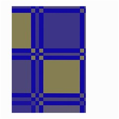 Blue design Small Garden Flag (Two Sides)