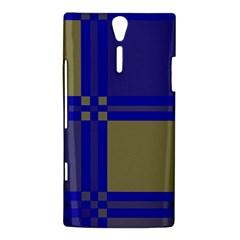 Blue design Sony Xperia S