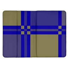 Blue design Kindle Fire (1st Gen) Flip Case