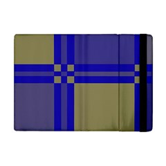 Blue design Apple iPad Mini Flip Case