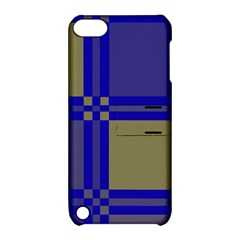 Blue design Apple iPod Touch 5 Hardshell Case with Stand