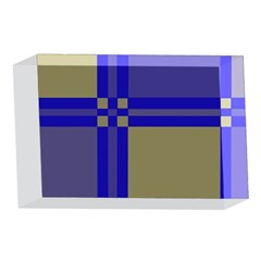 Blue design 4 x 6  Acrylic Photo Blocks
