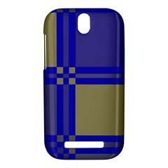 Blue design HTC One SV Hardshell Case