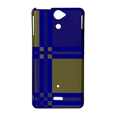 Blue design Sony Xperia V