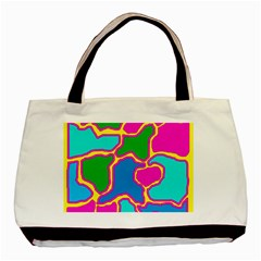 Colorful abstract design Basic Tote Bag