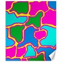 Colorful abstract design Canvas 20  x 24