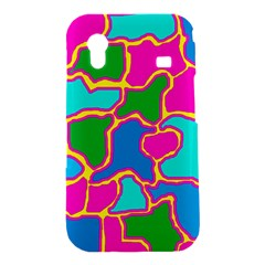 Colorful abstract design Samsung Galaxy Ace S5830 Hardshell Case