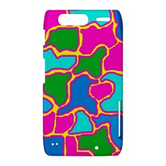 Colorful abstract design Motorola Droid Razr XT912