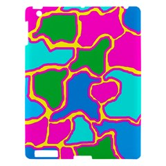 Colorful abstract design Apple iPad 3/4 Hardshell Case
