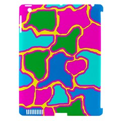 Colorful abstract design Apple iPad 3/4 Hardshell Case (Compatible with Smart Cover)