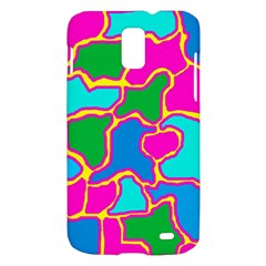 Colorful abstract design Samsung Galaxy S II Skyrocket Hardshell Case
