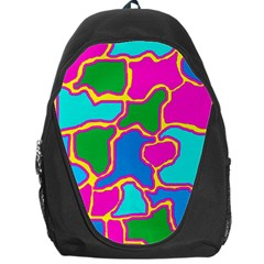 Colorful abstract design Backpack Bag