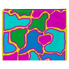 Colorful abstract design Cosmetic Bag (XXXL)
