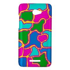 Colorful abstract design HTC Butterfly X920E Hardshell Case