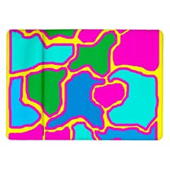 Colorful abstract design Samsung Galaxy Tab 10.1  P7500 Flip Case