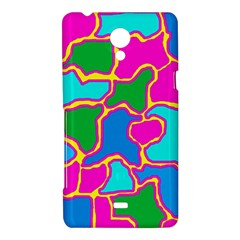 Colorful abstract design Sony Xperia T