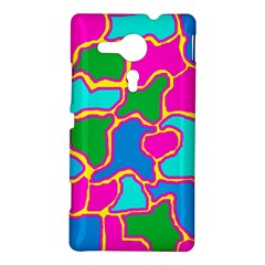 Colorful abstract design Sony Xperia SP
