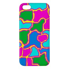 Colorful abstract design iPhone 5S/ SE Premium Hardshell Case