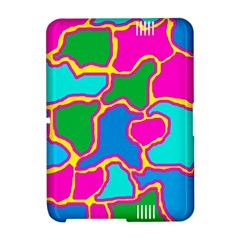 Colorful abstract design Amazon Kindle Fire (2012) Hardshell Case