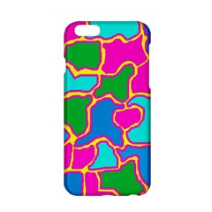 Colorful abstract design Apple iPhone 6/6S Hardshell Case