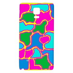 Colorful abstract design Galaxy Note 4 Back Case