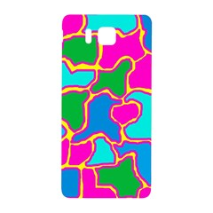 Colorful abstract design Samsung Galaxy Alpha Hardshell Back Case