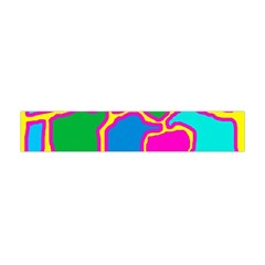 Colorful abstract design Flano Scarf (Mini)
