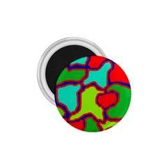 Colorful abstract design 1.75  Magnets