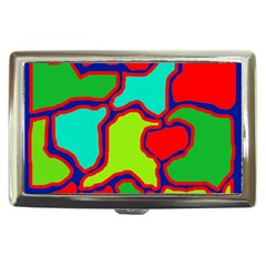 Colorful abstract design Cigarette Money Cases