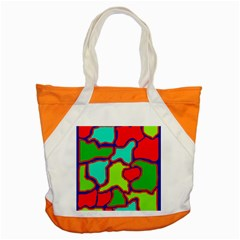 Colorful abstract design Accent Tote Bag