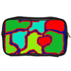 Colorful abstract design Toiletries Bags