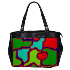 Colorful abstract design Office Handbags