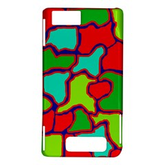 Colorful abstract design Motorola DROID X2