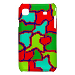 Colorful abstract design Samsung Galaxy S i9008 Hardshell Case