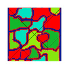 Colorful abstract design Acrylic Tangram Puzzle (6  x 6 )