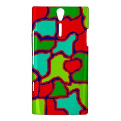 Colorful abstract design Sony Xperia S