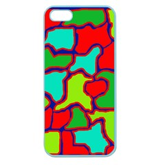 Colorful abstract design Apple Seamless iPhone 5 Case (Color)