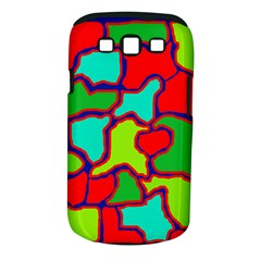 Colorful abstract design Samsung Galaxy S III Classic Hardshell Case (PC+Silicone)