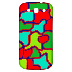 Colorful Abstract Design Samsung Galaxy S3 S Iii Classic Hardshell Back Case