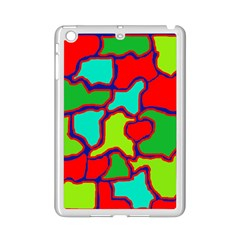 Colorful abstract design iPad Mini 2 Enamel Coated Cases